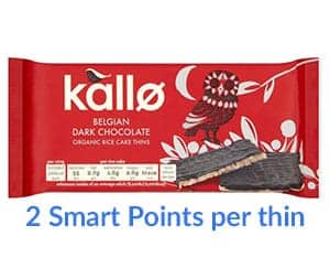 A packet of Kallo rice thins