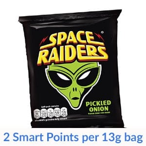 A packet of Space Raiders