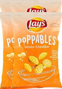 4 bags of Lays Poppables