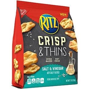 A bag of Ritz crisp and thins