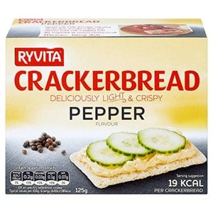 A box of Ryvita crackerbread