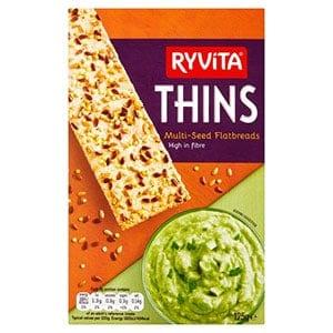 A box of ryvita thins