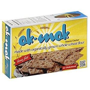 a box of ak mak crackers