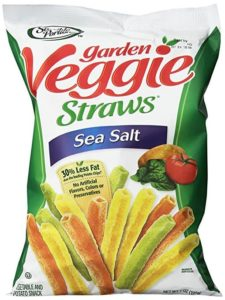 A bag of Garden Veggie Chips