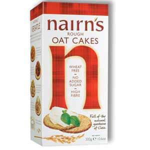 A box of nairns oatcakes