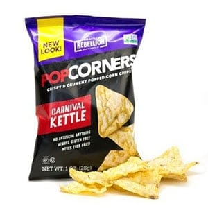 A packet of PopCorners