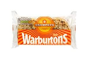 A packet of Warburton crumpets