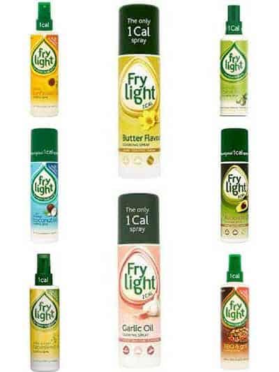 8 bottles of Frylight