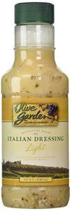 A bottle of Live Garden light Italian dressing