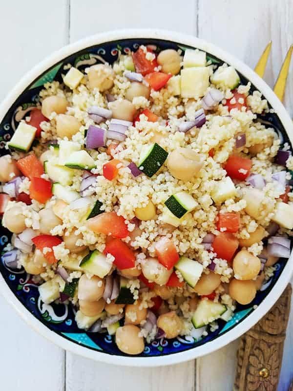 Couscous Salad Weight Watchers Pointed Kitchen