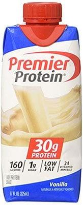 A bottle of Original Premier Protein