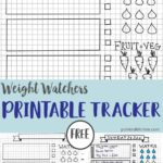 photo regarding Weight Watchers Smart Points Tracker Printable called Fat Watchers Tracker Pointed Kitchen area