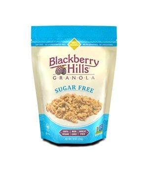 Blackberry Hills granola -a low point cereal