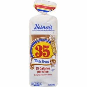 Heiners 35 white - low point bread