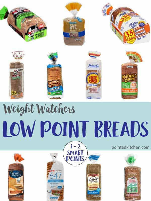Low Point Breads (2018) | Weight Watchers | Pointed Kitchen