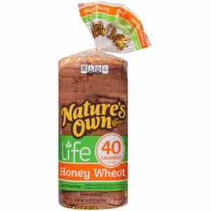 Natures own honey bread - low point bread