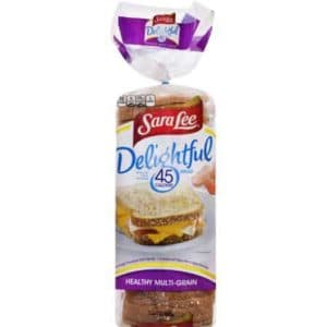 Sara Lee Multigrain bread - low point bread