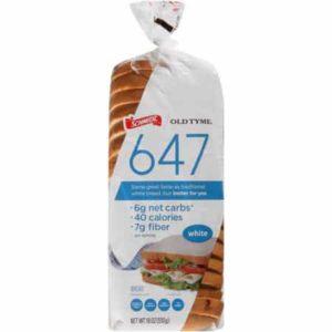 647 white bread - low point bread