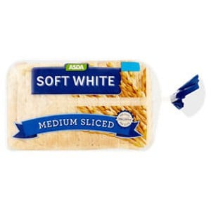Low Smart Point Breads UK - ASDA soft white medium