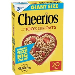 Cheerios - a low point cereal