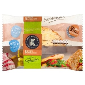 Low Smart Point Breads UK deli kitchen seeded flatbread