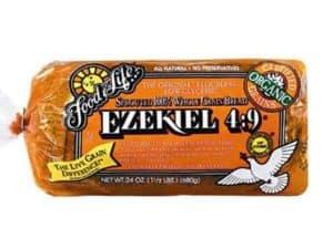 Ezekiel sprouted bread - low point bread