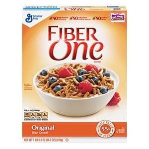 Fibre one - a low point cereal