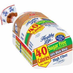 Healthy life sugar free bread - low point bread