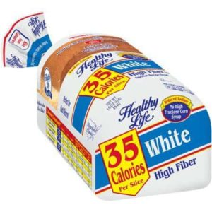 healthy life white - low point bread