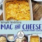 A dish of macaroni cheese
