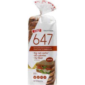 647 wheat - low point bread