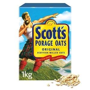 A box of scotts porridge oats