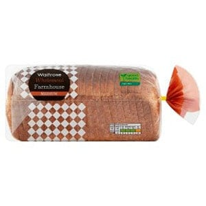Low Smart Point Breads UK - Waitrose farmhouse wholemeal