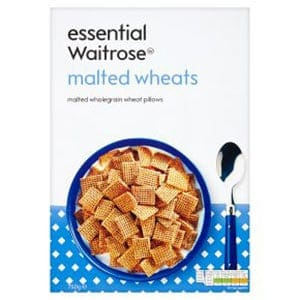 Waitrose malted wheats - a low point cereal UK