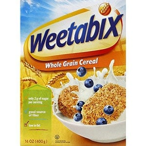 Low point cereal Weetabix