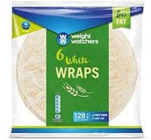 A packet of Weight Watchers wraps