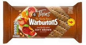 Low Smart Point Breads UK - warburton thins brown