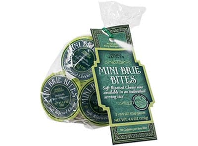 Trader Joes Mini Brie Bites - low point cheese