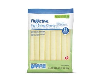 Aldi fit & active - low point cheese