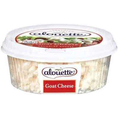 Alouette crumbled goats cheese - low point cheese