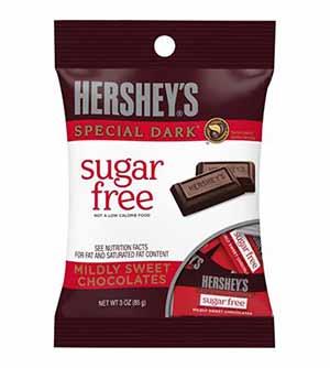 Hersheys sugar free - low point chocolate