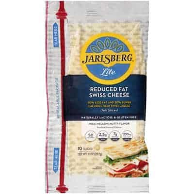 Jarlsberg reduced fat - low smartpoint cheese