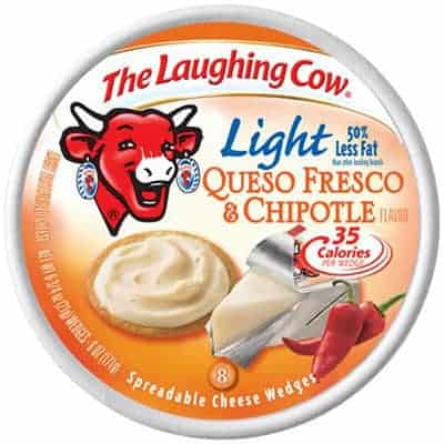 Laughing cow chipolte - low point cheese