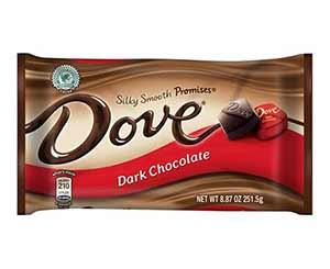 dove Promises Dark Chocolate - low point chocolate