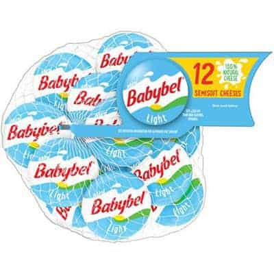 Mini babybel light - low point cheese