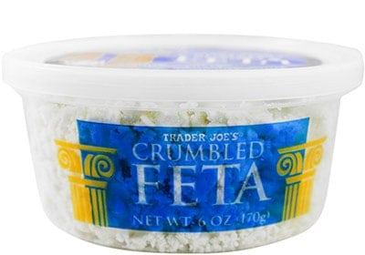 Trader Joes Crumbled Feta