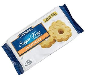 A pack of Murrays Sugar Free Shortbreads