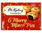 A box of Mr Kipling Merry Mince Pies