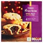 A box of Tesco Free From deep mince pies