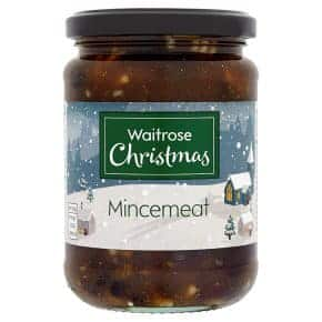 A Jar of Waitrose Mincemeat